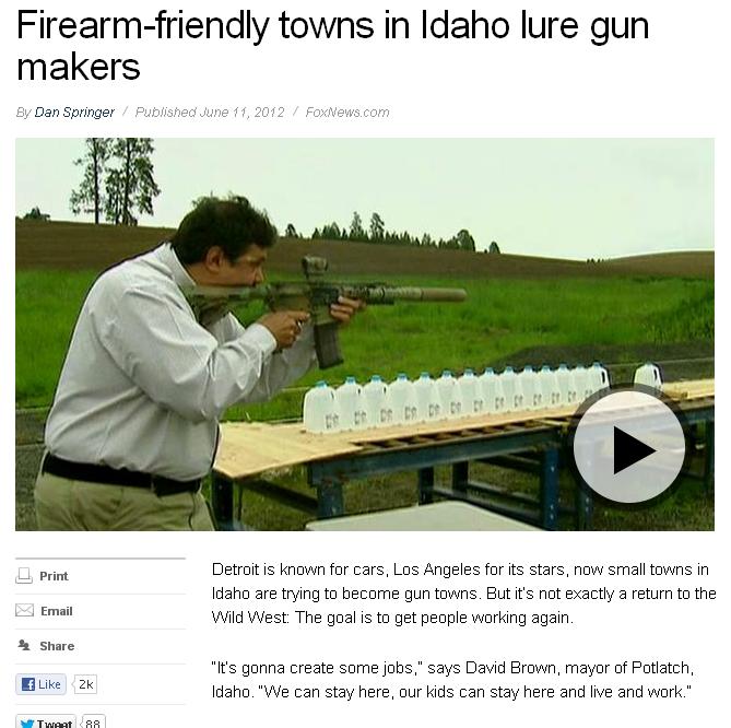Firearm Friendly Towns In Idaho Lure Gun Makers Fox News Pchelle